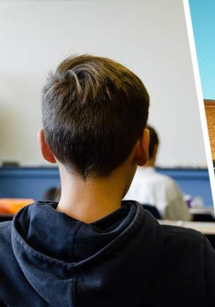 Окружён, но не сломлен, решил первоклашка и рванул из школы. На видео он не знает, что у учительницы есть байк