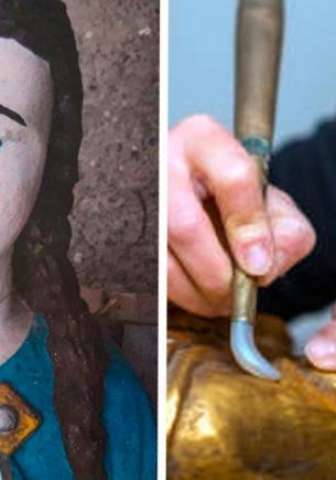 Реставраторы восстановили статую Девы Марии и разозлили владельца. Итог получился таким, что молитвы не спасут
