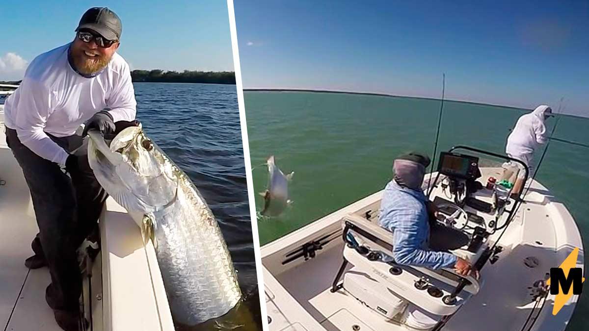 Пять сантиметров. Вот на таком расстоянии оказался рыбак от эпичного леща, потому что ловил рыбу без уважения