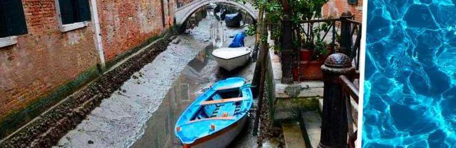 Как выглядит Венеция без воды. Показали жители города, и фотографироваться там не захочется никому