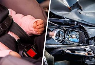 """Водитель сбежал с места аварии. """"В смысле?"""" – будут первые слова его младенца, оставшегося в авто"""