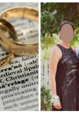 Невеста уверена, что семья мужа её ненавидит. Ещё бы: стоит только взглянуть, в чём они пришли на её свадьбу
