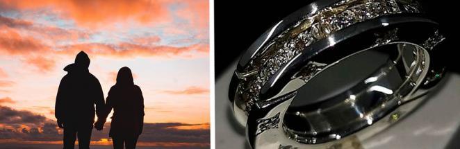 Именинница получила в подарок необычное кольцо, и к бойфренду вопросы. Первый — какое имя у этого Трансформера
