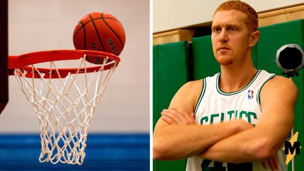"""Дерзкий школьник бросил вызов """"слабому"""" экс-баскетболисту NBA. Игра показала: один из них слишком верил в себя"""