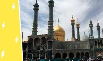 Иранский мавзолей просто существует, а трипофобы ставят дизлайк. Осторожно, от фото зачешутся руки