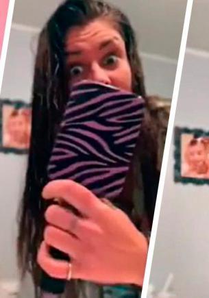 Блогерши показали, как правильно расчёсывать волосы, и сломали девушек. Все держали щётку для волос не так