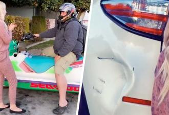 Жена извинилась перед мужем за разбитое авто, и люди злы. Увидев её раскаяние, они поняли: паре нужен развод