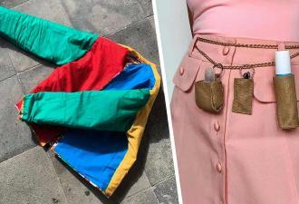 Модница создаёт одежду от-кутюр, но удивляет тем, из чего она. Глядя на коллекцию, хочется заказать фаст-фуд