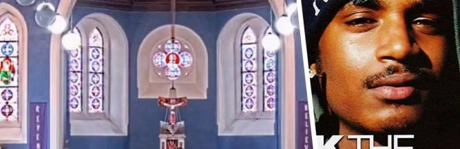 На онлайн-проповеди в церкви вместо гимна включился рэп. Реакция священника – лучшая часть видео