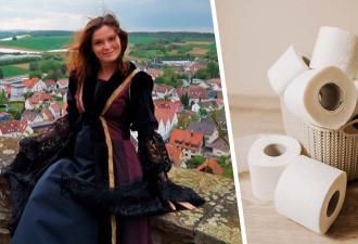 Авантюристы два года жили в замке XV века, но повторить их опыт рискнут не все. Достаточно взглянуть на туалет