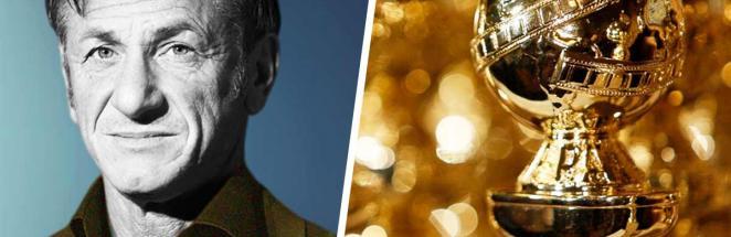 """Шон Пенн пришёл на """"Золотой глобус"""" и стал мемом. Если бы понедельник был человеком, он выглядел бы так"""