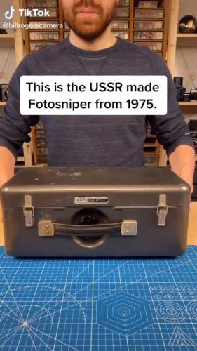 """Американец показал камеру и отправил русских в детство. Такую технику они видели у Шарика из """"Простоквашино"""""""