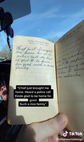 Парень нашёл дневник хозяйки 1957 года, а там муд 21 века. Эта женщина - типичный миллениал, и её поймут все