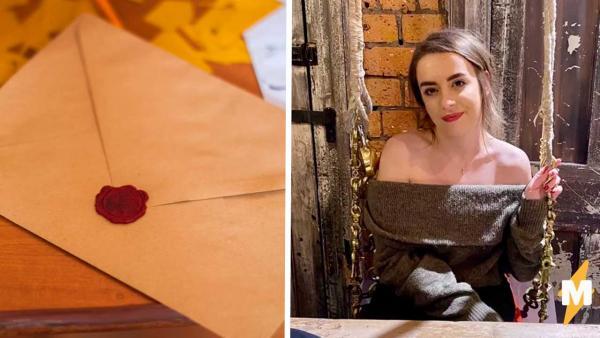 Хозяйка дома нашла любовное послание, но вряд ли оно адресовано ей. Подарок говорит об этом лучше любых слов