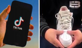 Скупщик кроссовок Nike показал, как избавиться от заломов на обуви. И это лайфхак века по экономии