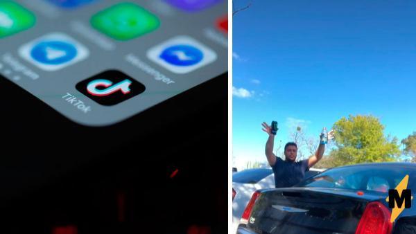 Автомеханик показал, что энергетики могут сделать со стеклом в авто. «Бум», и бодриться уже не захочется
