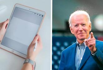 Художница омолодила Джо Байдена в фотошопе. Теперь политик — модель и копия Бибера, которая разбивает сердца