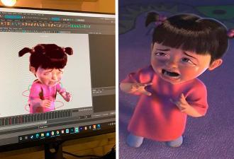 Мультипликатор показал, что чувствует, когда анимирует персонажа. И это мем с Бу из «Корпорации монстров»