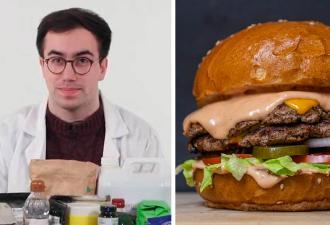Химик раскрыл, из чего состоит «Биг Мак», и отменил любовь к фастфуду. Людям понятно, почему булки так вкусны
