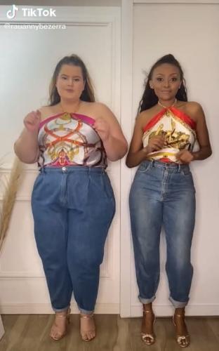 Блогерши с разными формами показали, как на них сидит одна и та же одежда. Это нокаут по стереотипам и моде