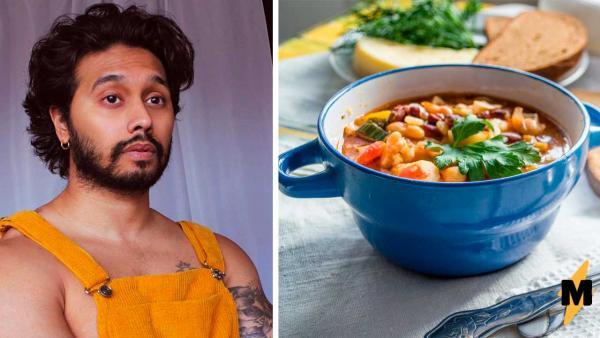 Бармен неделю ел только один суп и не жаловался. Но узнав состав блюда, люди удивились, как парень выжил