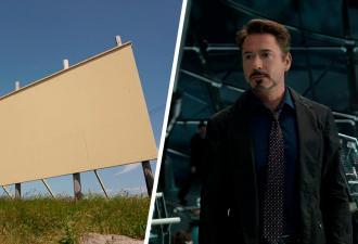 «Верните Тони Старка», — написали фаны на билборде, и Война бесконечности тут. Ведь киноманам стыдно за плакат