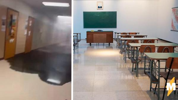 Убегая от черной жижи в школе, дети думали, что пришел Веном. Но разгадка была не такой фантастической