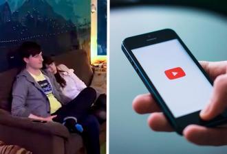 Бойфренд включил девушке ролик любимого блогера, а та в слёзы. Ещё бы, ведь кадры на экране изменили их жизни