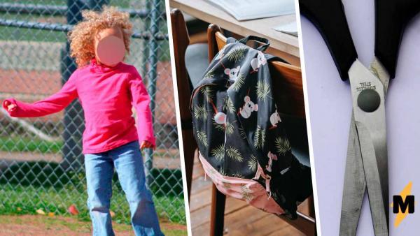 Дочь вернулась из школы и отец не поверил своим глазам. Утром он посадил на автобус совсем другого ребёнка