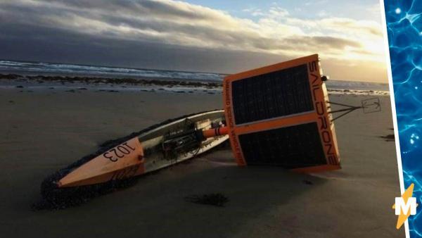 Спасатели ломали голову, что за странную лодку выбросило на берег. Хозяева, искавшие её два года