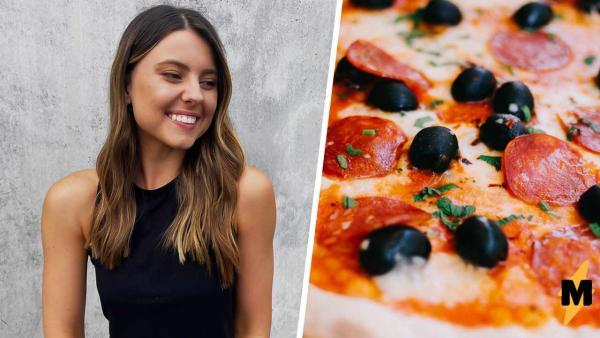 Блогерша похудела на 20 кг, благодаря пицце и картошке фри. Есть условие, которое делает всю еду полезной