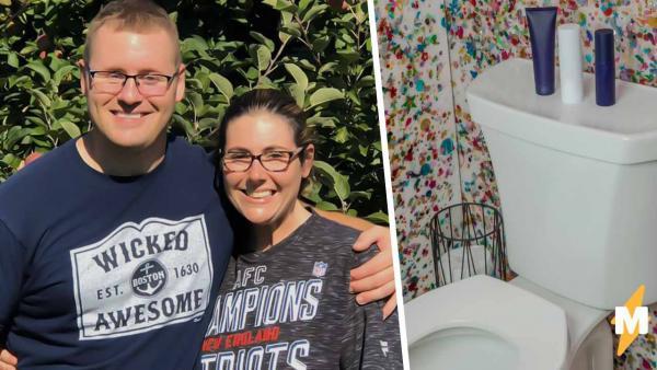 Невеста не знала, что беременна, пока не сходила в ванную. Представьте лицо её жениха, когда она вышла