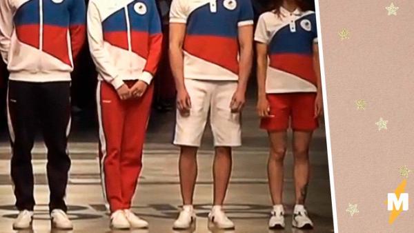 ZASPORT добавил оберег на форму для Олимпиады в Токио. Амулет скрыт от глаз, но русские знают, как он выглядит