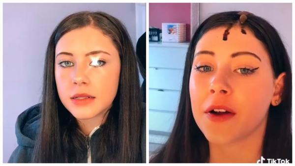 Блогерша показала, как красит волосы с помощью автозагара. К осветлённым корням прибавился