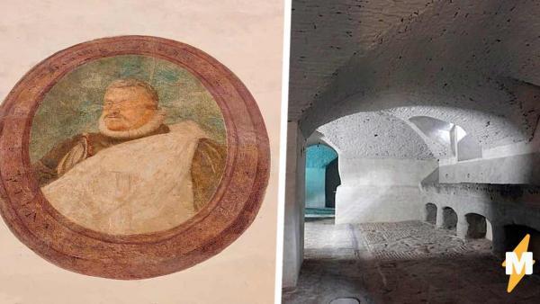 Строители ремонтировали галерею и заметили тайник. За стеной их ждала хорошая новость, а в подвале — не очень