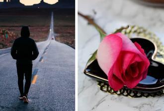 Герой думал, что спас девушку от сталкера, но упс. Услышав слова мужчины, он стал краснее роз в его букете