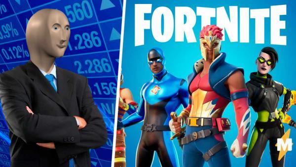 Они купили? Обваливайте акции. В Fortnite добавили героя мема Stonks и геймеры уже шутят про крах рынка мемов