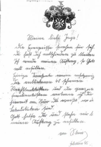 Историки прочли любовное письмо 1945 года и на