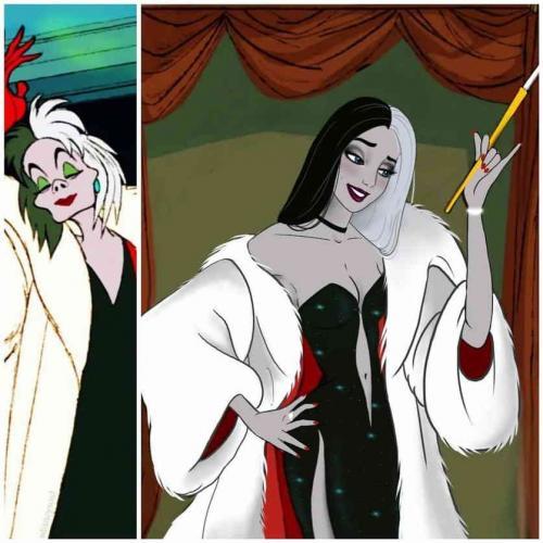 Художница преобразила злодеек Disney, но люди против. Они вынесли свой модный приговор - срочно менять наряды