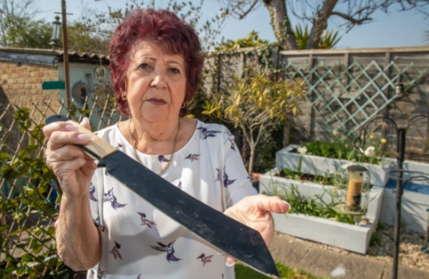 Бабуля купила диван, а заглянув внутрь, побежала в полицию. Плюс одна причина не покупать ничего с рук
