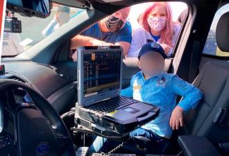 Семилетка пришёл в полицейский участок и сдал вступительные тесты. На его счету уже одно раскрытое дело