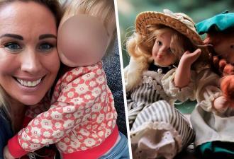 Дочка с синдромом Дауна радуется своей сестрёнке. Они как две капли воды, но маме для этого рожать не пришлось