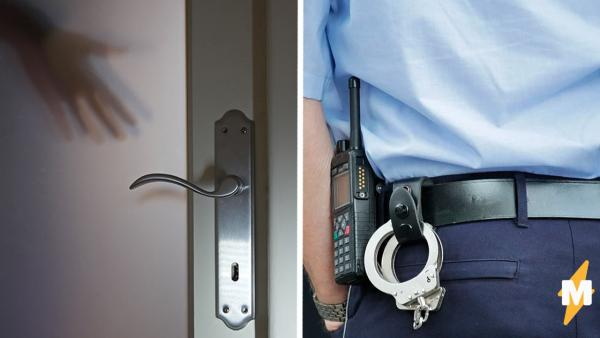 Полиция хотела задержать домушника, но у того не оказалось сердца. Вместо него щётки и повод для стыда хозяйки
