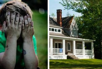 Супруги услышали плач в саду и испугались, ведь у них нет детей. Под кустом таился тот, кто думал наоборот