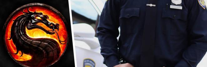Офицер отработал приёмы на видео, расстроив начальство. Оно не оценило его заявку на участие в Mortal Kombat