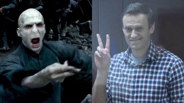Джоан Роулинг и Рэйф Файнс поддержали Навального. А люди уверены – магия Волан-де-Морта победит зло