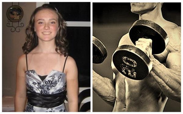 Худая девушка захотела большие мышцы и записалась в зал. Узнать её в парне-бодибилдере с фото - невозможно