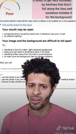 Парень не может сделать фото на паспорт из-за своего лица. С ним всё в порядке, но вот у алгоритмов проблемы