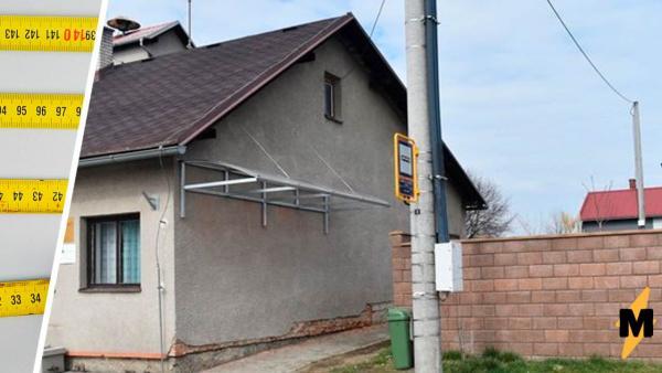 Три метра над уровнем...земли. Посмотрите на фото обычной автобусной остановки и поймите, что с ней не так