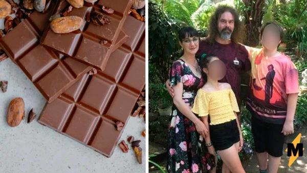 Дети не понимали куда пропадают их шоколадки, пока не увидели ночью мать.